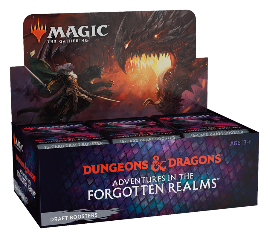 MtG: Forgotten Realms Draft Booster Box