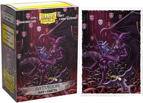 SLV: Dragon Shield Art: Matte Saturion (100)