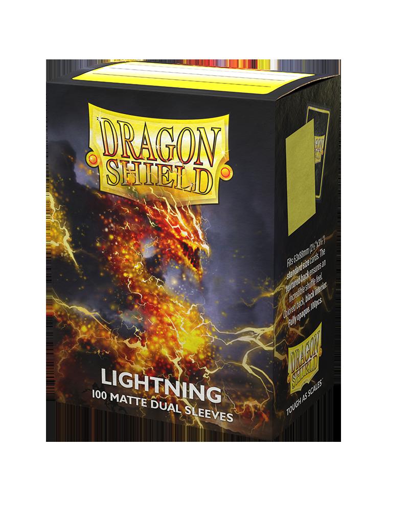 SLV: Dragon Shield Matte Dual: Lightning