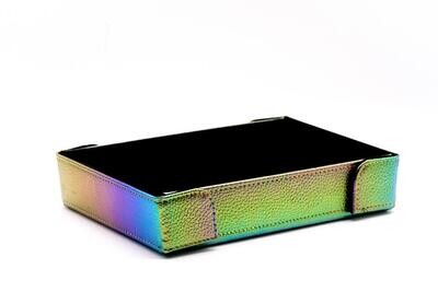 Die Hard Magnetic Dice Tray Rectangle: Satin Rainbow
