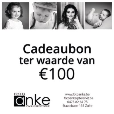 Cadeaubon waarde €100