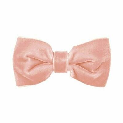 Oud-roze fluwelen haarspeldje