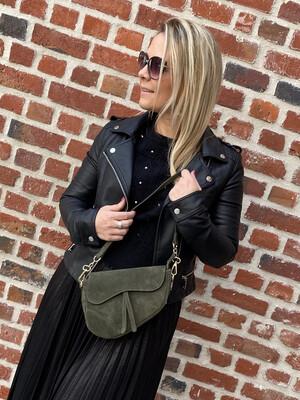 Dior-inspired Bag khaki