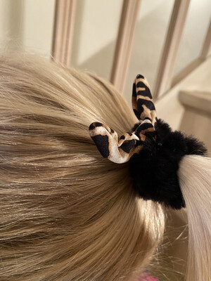 Scrunchie leopard
