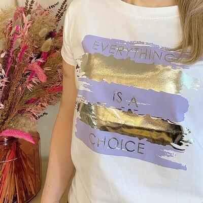 Shirt Everything Lila