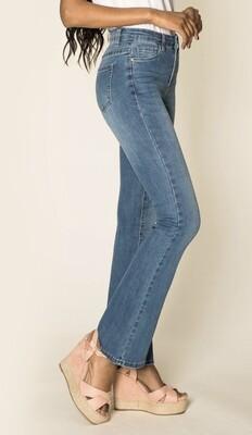 Jeans wijde broekspijpen