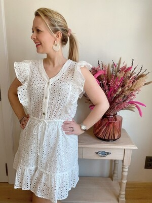 Julia Dress / Jumpsuit White