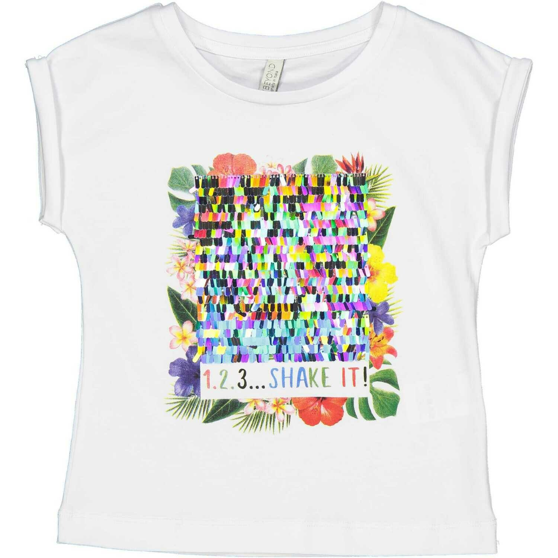 T-shirt Shake It paillettes