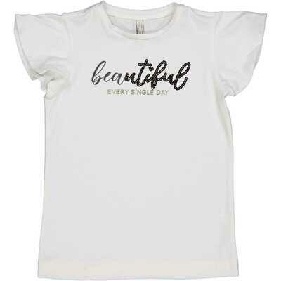 T-Shirt beautiful met paillettes