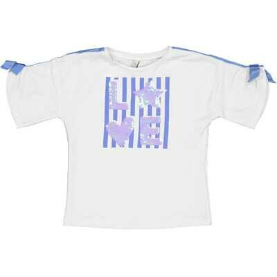 T-shirt blue love
