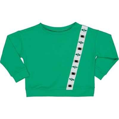 Groen chic Sweater