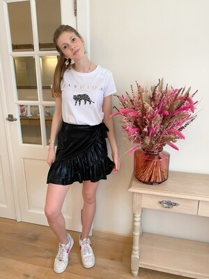 Leather-look Skirt