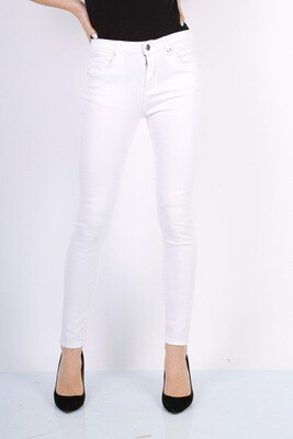 TOXIK high waist skinny Witte jeans