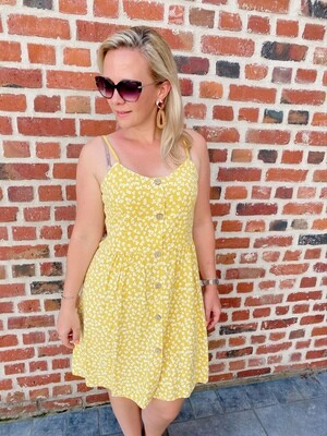 Summer Flowerdress yellow
