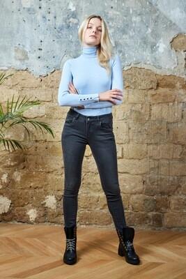 TOXIK jeans dark grey