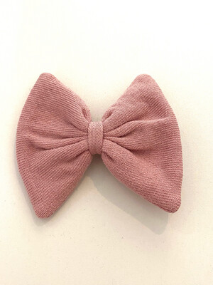 Meia Pata Vieux-roze stoffen haarspeldje