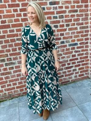 Unique dress khaki