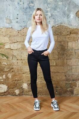TOXIK jeans cotton zwart
