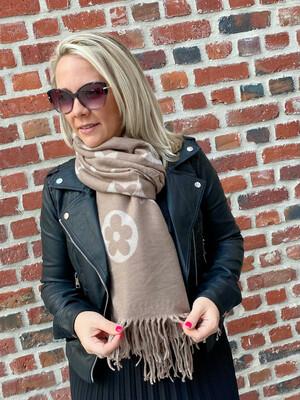 Trendy Sjaal beige