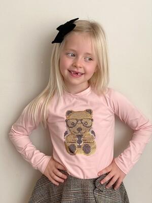Pink beary T-shirt