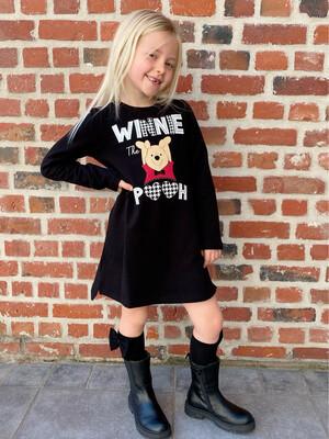 Winnie Pooh sweaterjurkje