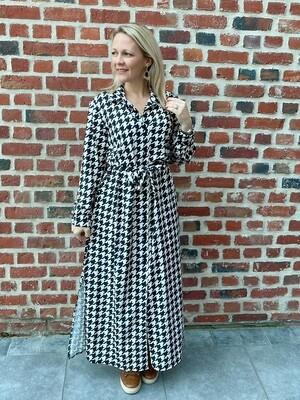 My lovely Pied-de-poule dress