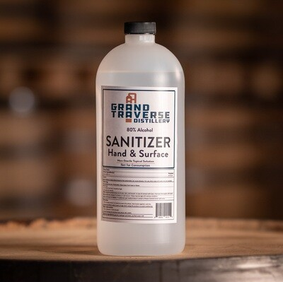 Sanitizer Quart Retail