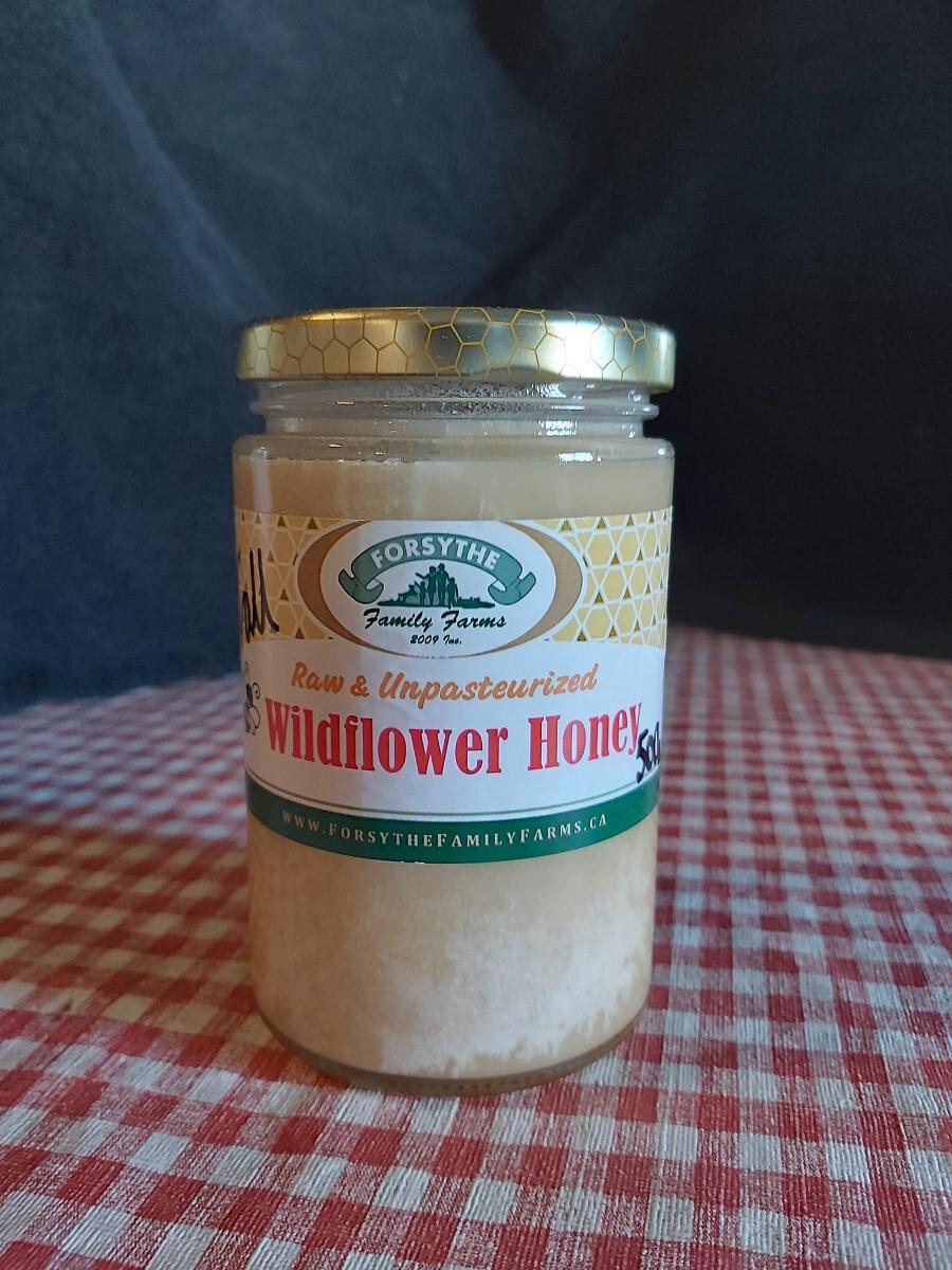 Raw unpasteurized Honey 500g