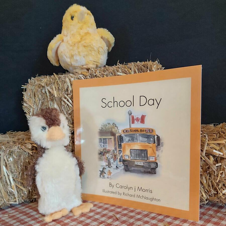 School Day - The Railfence Bunch Series by Carolyn j. Morris
