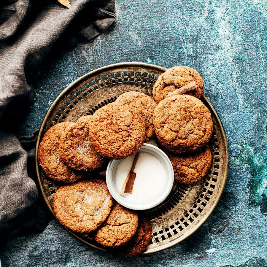 Cookies - Ginger Molasses large 5/bag