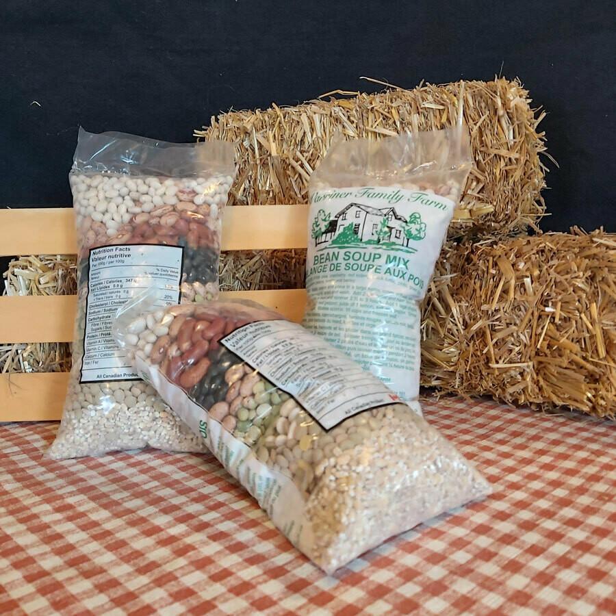 Bean Soup Mix - Warriner Family Farm (20 oz bag)