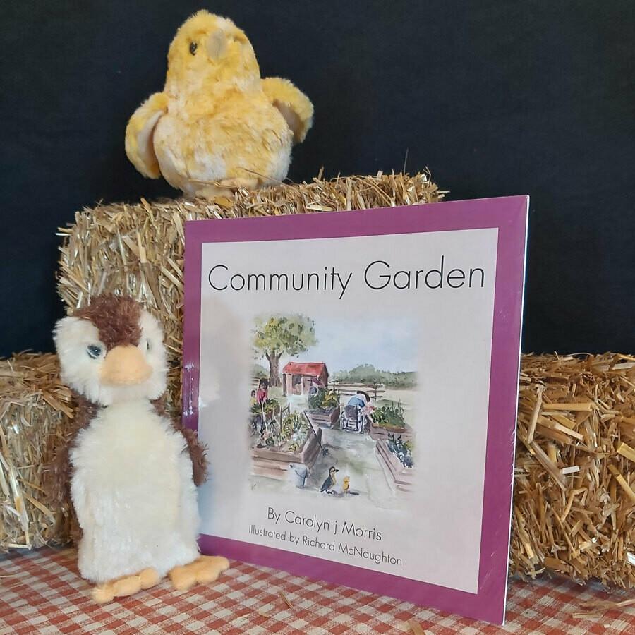 Community Garden - Railfence Bunch Series by Carolyn j Morris