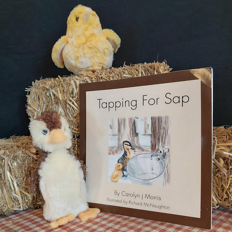 Tapping for Sap - The Railfence Bunch Series by Carolyn j. Morris