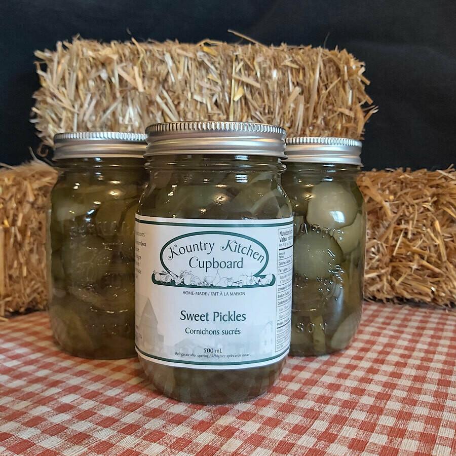 Sweet Pickles - 500 ml - Kountry Kitchen Cupboard
