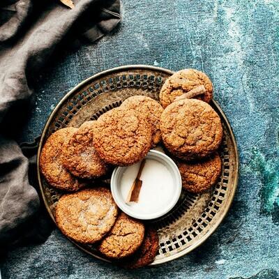 Cookies - Ginger Molasses 1 oz. 8/bag