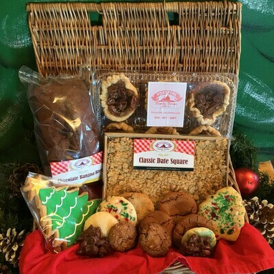 Baked Goodies Gift Basket