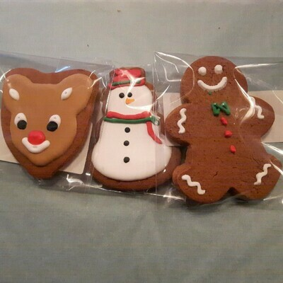 Small Christmas Gingerbread Cookie