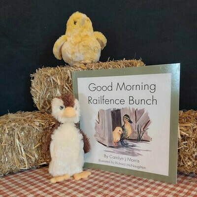 Good Morning - The Railfence Bunch Series by Carolyn j. Morris