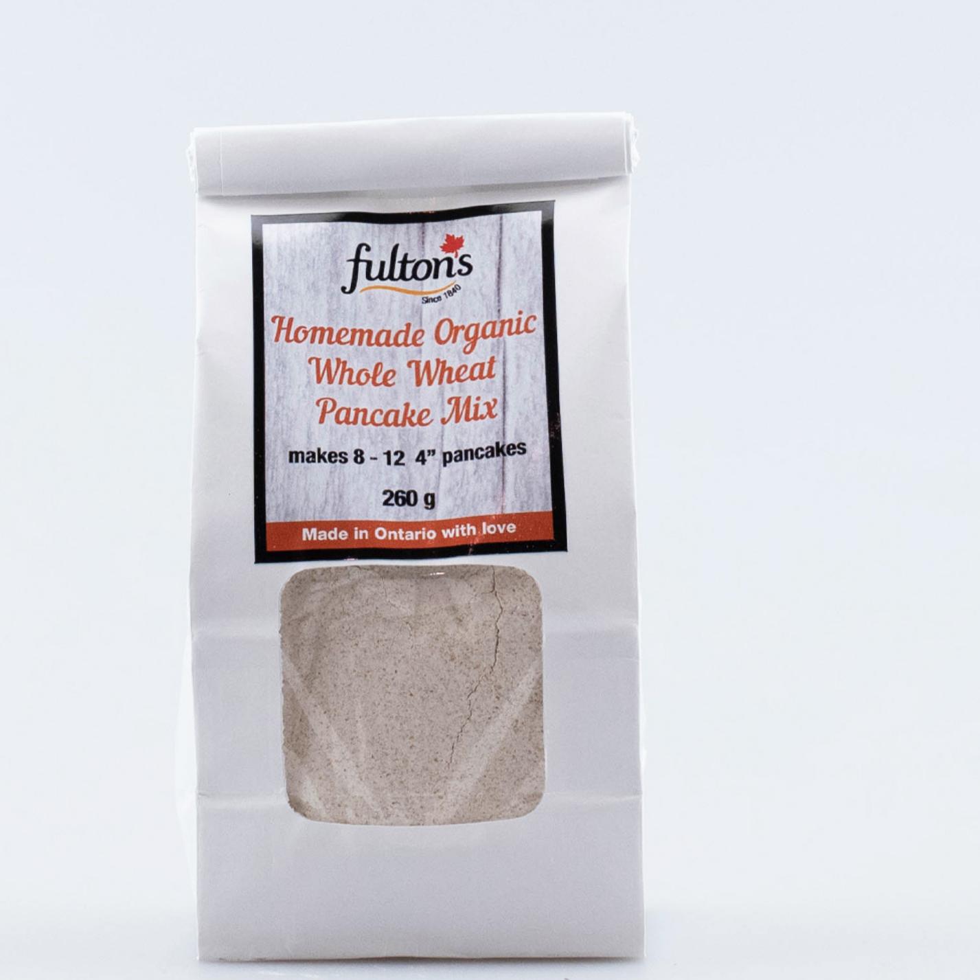 Fulton's Organic Pancake Mix -260gm