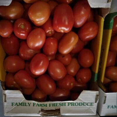 Tomatoes - Roma 1/2 bushel