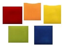Paint Kit (pottery glaze):  Primary & Secondary Colors