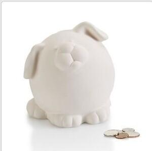 Pudgy Dog Bank