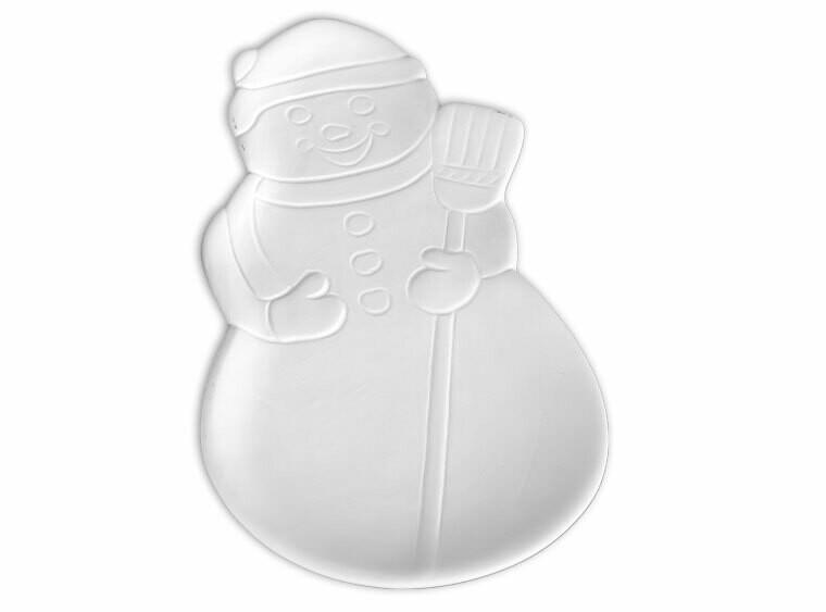Snowman Dish/Spoonrest