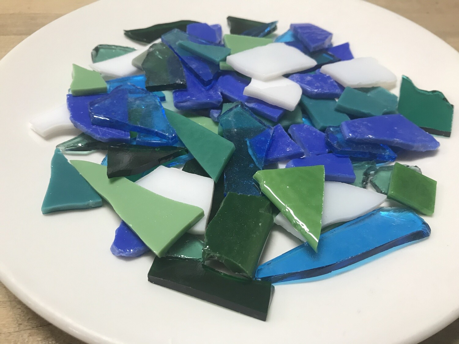 Extra Fusible Glass, Seaside Mix