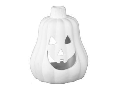 Votive Jack-o-Lantern Pear Shape