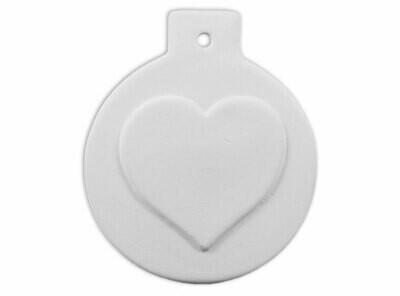 Ball Heart Ornament