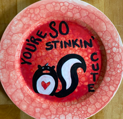 So Stinkin' Cute Plate: Sunday January 31st @ 10:30am