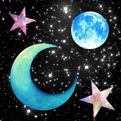 Sun, Moon & Stars: Aug. 2nd - 6th / 9:00 - 12:00pm