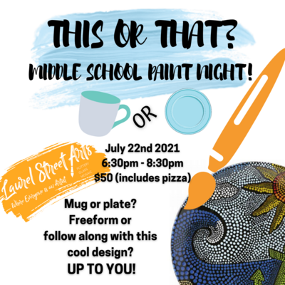 This or That? Middle School Paint Night
