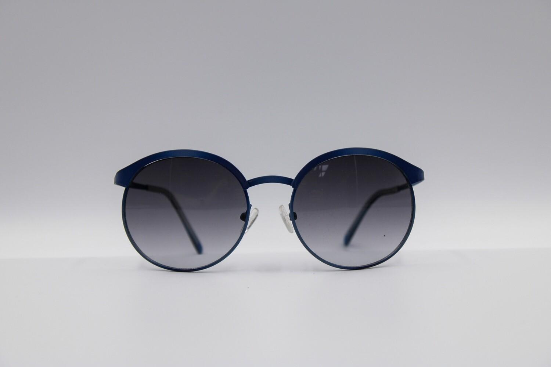 Zonnebril Rouded Frame Color Azul/TU